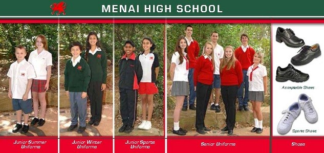 Menai High School Uniform Picture